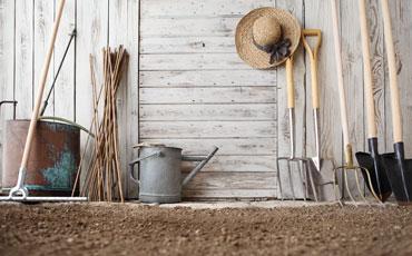 Les outils du jardin qu'il vous faut